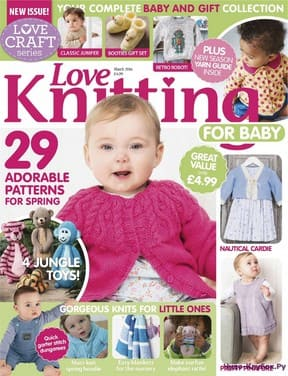 Love Knitting for Babies March 2016