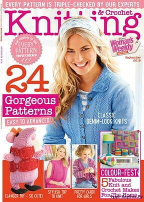 фото Knitting & Crochet from Womans Weekly 2016