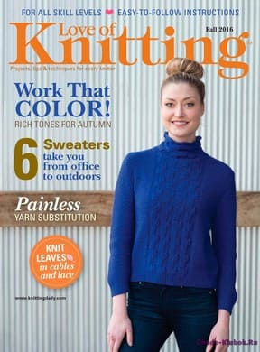 фото Love of Knitting Fall 2016