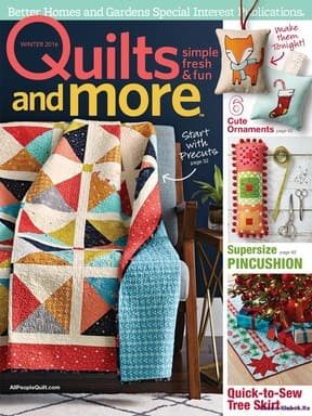 фото Quilts and More Winter 2016