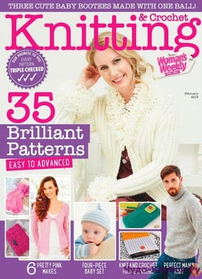 Knitting Crochet from Womans Weekly 018