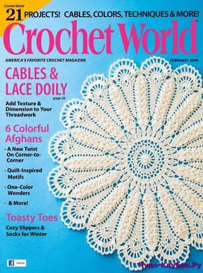 фото Crochet World February 2019
