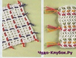 схема Плетение