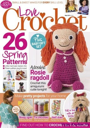 журнал Love Crochet May 2019