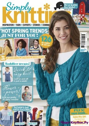 журнал Simply Knitting 185 2019